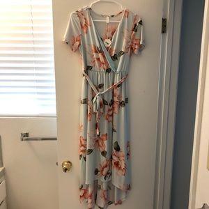 Pinkblush Floral Maternity Dress
